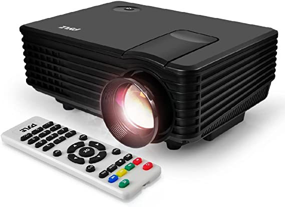 Portable Video Projector Full HD with Remote - Home Theater Projector Tv Digital Movie Projector - 1080p Support 80