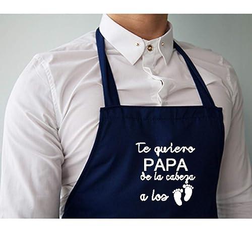 Delantal cocina personalizado .con la frase: