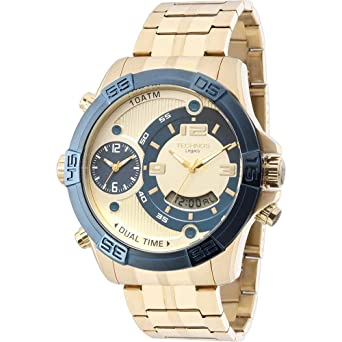 1c0367264d4a9 Relógio Masculino Technos Analógico Casual T205FU 4X - Dourado ...