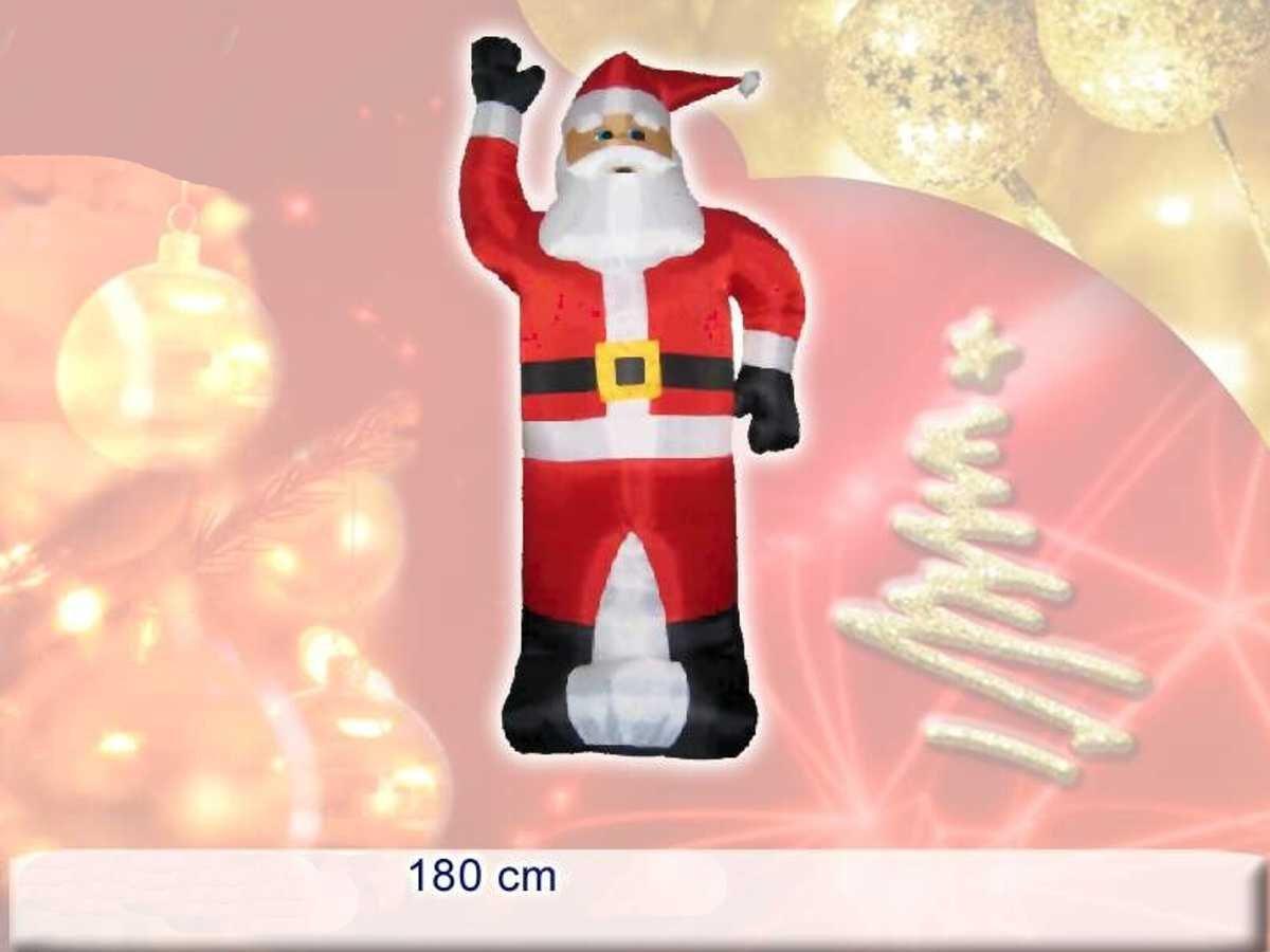 Papá Noel hinchable 180 cm  Pi 8033113012037