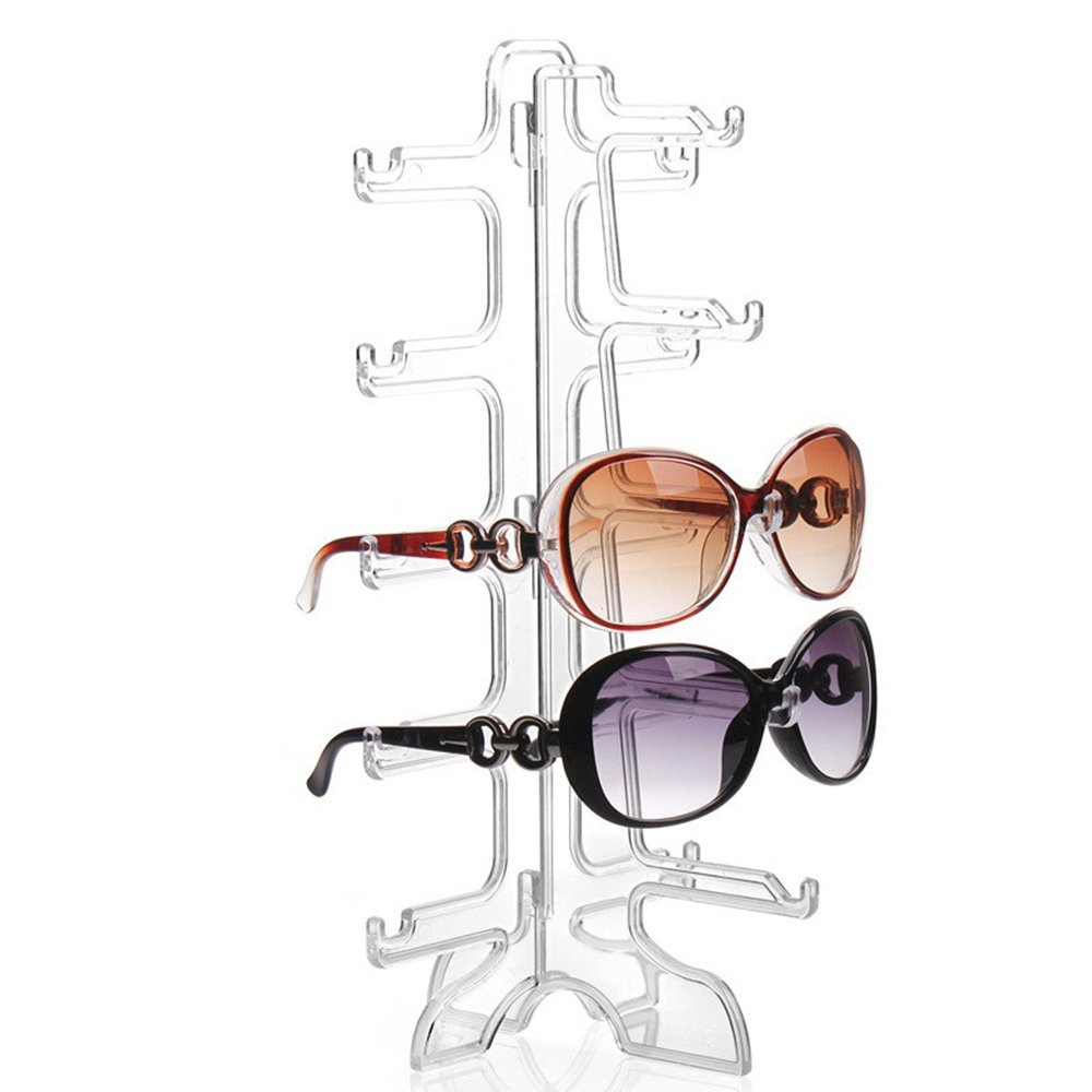 Perfectii Sunglasses Rack, Eyeglass Rack Glasses Holder 5 Layers Glasses Eyeglass Holder