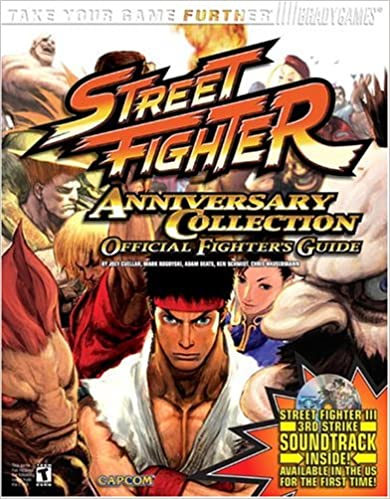 Street fighter anniversary collection official strategy guide.