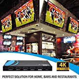 Orei UltraHD 4K @ 60 Hz 1 X 4 HDMI SPLITTER 1 In 4