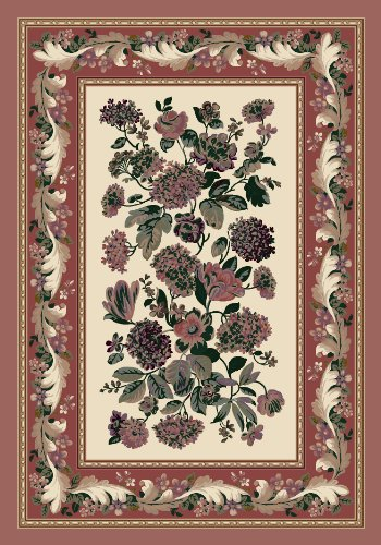 Rose Quartz Milliken Rose (Milliken 4000040115 Innovations Collection Chelsea Rectangle Area Rug, 2'8