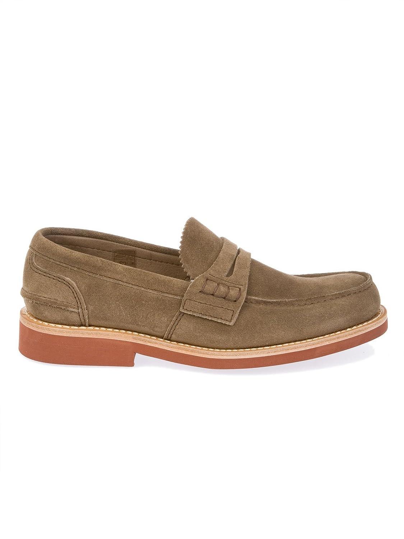 Men's PEMBREYCASTOROMUD Brown Suede Loafers
