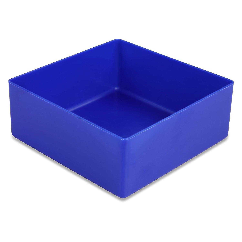 farblich sortiert Industrienorm aus Polystyrol 25 St/ück Einsatzkasten Serie E40 Sortimentsk/ästen etc. E40//3, 99x49x40 mm 4 Gr/ö/ßen 5 Farben u f/ür Schubladen