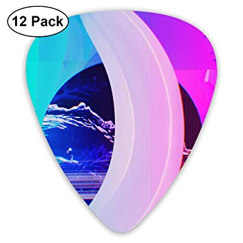 Amazon.com: 351 Shape Classic Guitar Picks Banana Pattern ...