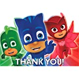 PJ Masks Thank You Notes w/ Envelopes (8ct)