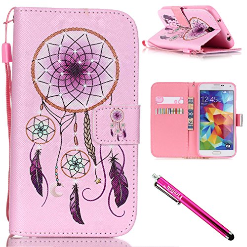 Firefish Kickstand Magnetic including Stylus Pinknet