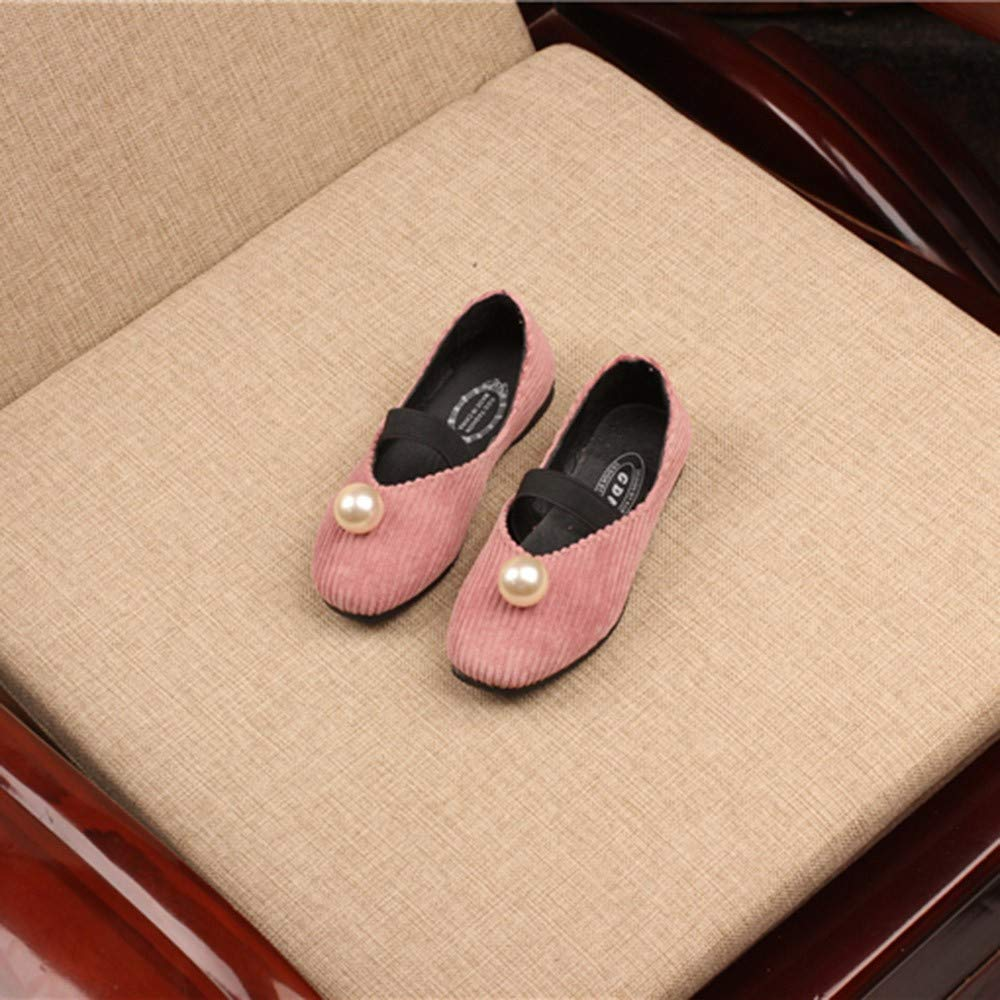 Girls Shoes Dress Pearl Princess Casual Formal Dance Princess Shoe Little Kid//Big Kid