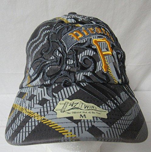 - '47 Twins Pittsburgh Pirates Men's Size Large Honor MLB Franchise P Baseball Cap/Hat E1 144