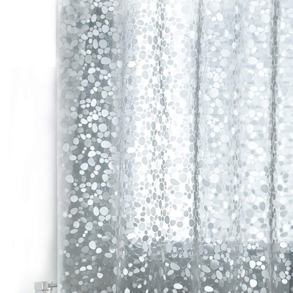 Amazon Wimaha Nontoxic EVA Shower Curtain Clear Mildew