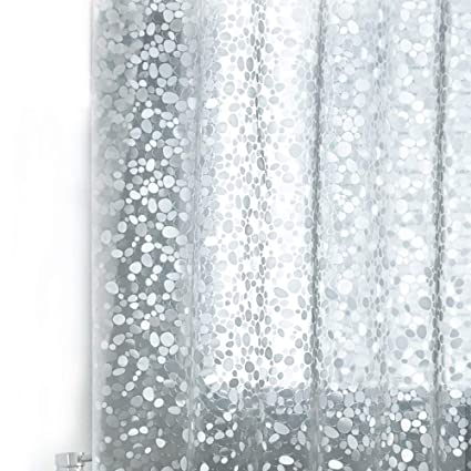 Amazon Wimaha Nontoxic EVA Shower Curtain Clear Mildew