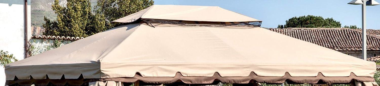 Ricambio Top Superiore per Gazebo Adventure 3x4 Ecru' Impermeabile