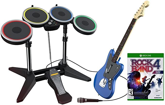 Rock Band Rivals Band Kit for Xbox One (EU Version) - Rock Band Rivals - Xbox One [Importación alemana]: Amazon.es: Videojuegos