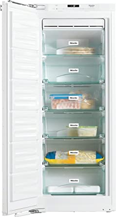 Miele FNS35402i - Congelador (Vertical, Incorporado, Color blanco ...