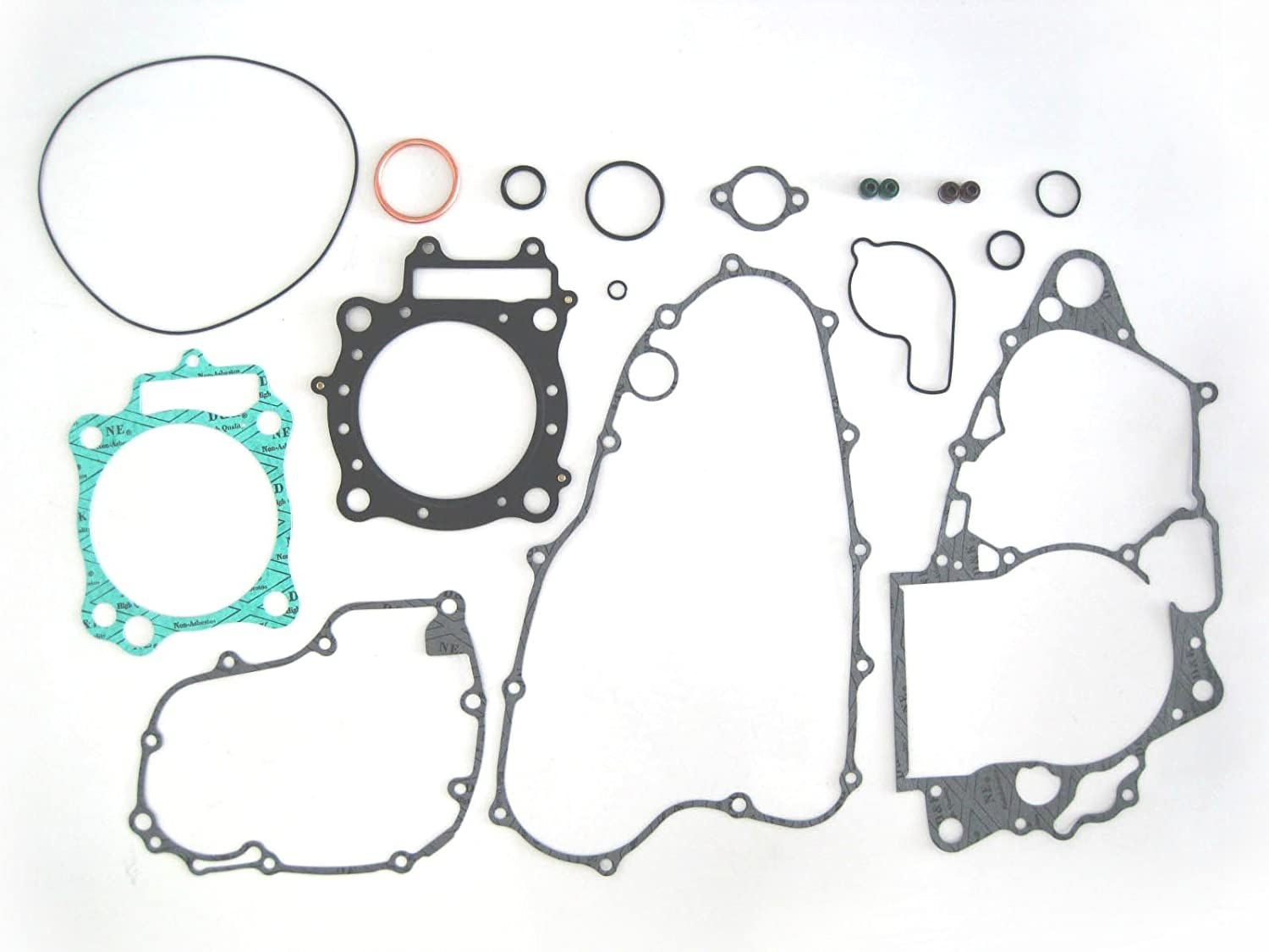 Amazon.com: Complete Engine Gasket Kit Top and Bottom End Honda Honda CRF  450R 2002–2008: Automotive