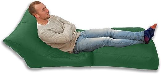 Grande puf en/al aire libre jardín puf XXXL impermeable juegos cama silla: Amazon.es: Jardín