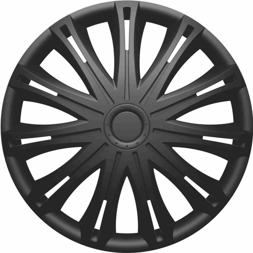 16 Inch Spark Black Car Alloy Wheel Trims Hub Caps Set of 4 MITSUBISHI L200 SINGLE CAB 2006 ON