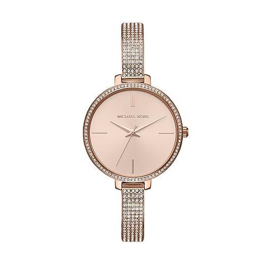 Michael Kors Reloj Analogico para Mujer de Cuarzo con Correa en Acero Inoxidable MK3785: Amazon.es: Relojes