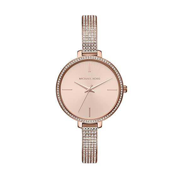 11b6b103e9c2f Buy Michael Kors Jaryn Analog Gold Dial Women s Watch - MK3785 Online at  Low Prices in India - Amazon.in