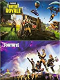 Fortnite Posters Fan Art Set of Two Posters, (Size 24x36 each)
