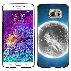 Shell-Star Arte & diseño plástico duro Fundas Cover Cubre Hard Case Cover para Samsung Galaxy S6 / SM-G920 / SM-G920A / SM-G920T / SM-G920F / SM-G920I ( Space Planet Galaxy Stars 44 )