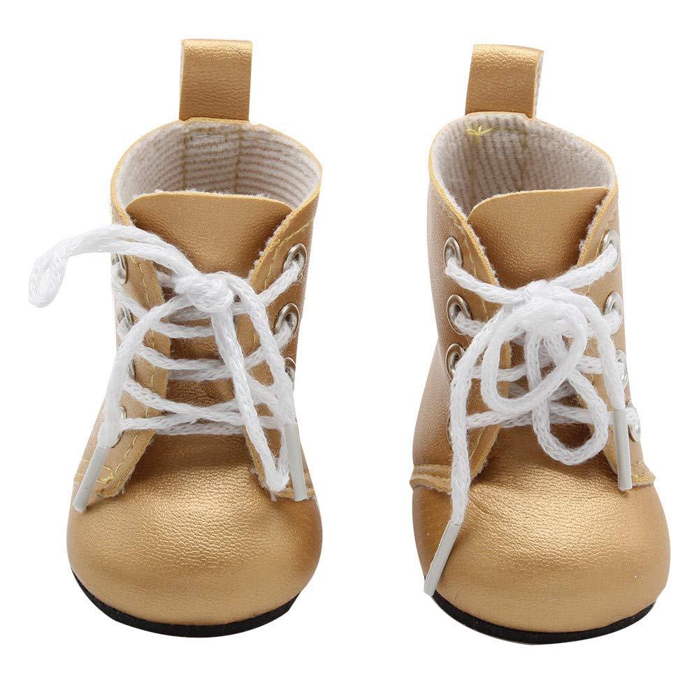 für American Girl für American Girl Schuhe (außer Puppen), Malloom Puppe Schuhe-Cute Schuhe für 18-Zoll-für American Girl Doll Malloom-Bekleidung