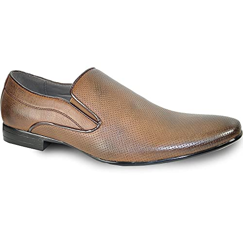 6714f9fdb3cb Image Unavailable. Image not available for. Color  bravo! Men Dress Shoe ...