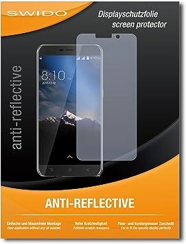 SWIDO® Protector de Pantalla para Blackview A10 [Anti-Reflex], [2 ...