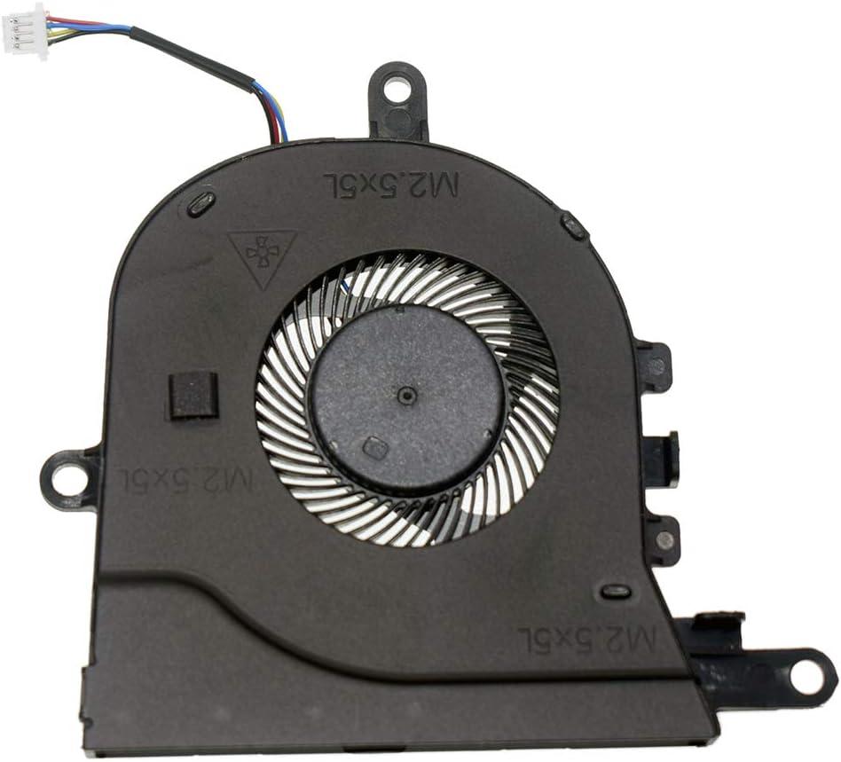 DREZUR CPU Cooling Fan for Dell Latitude 3590 L3590 E3590 Inspiron 15-5570 15-5575 Series Laptop Cooler 0FX0M0