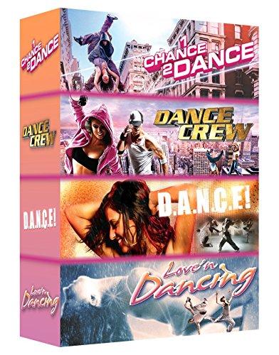 Coffret danse n°2 : D.A.N.C.E ! + LOVE'N DANCING + DANCE CREW + 1 CHANCE 2 DANCE
