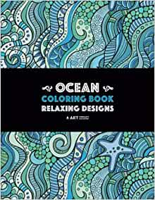 Ocean Coloring Book Stress Free Meditation product image