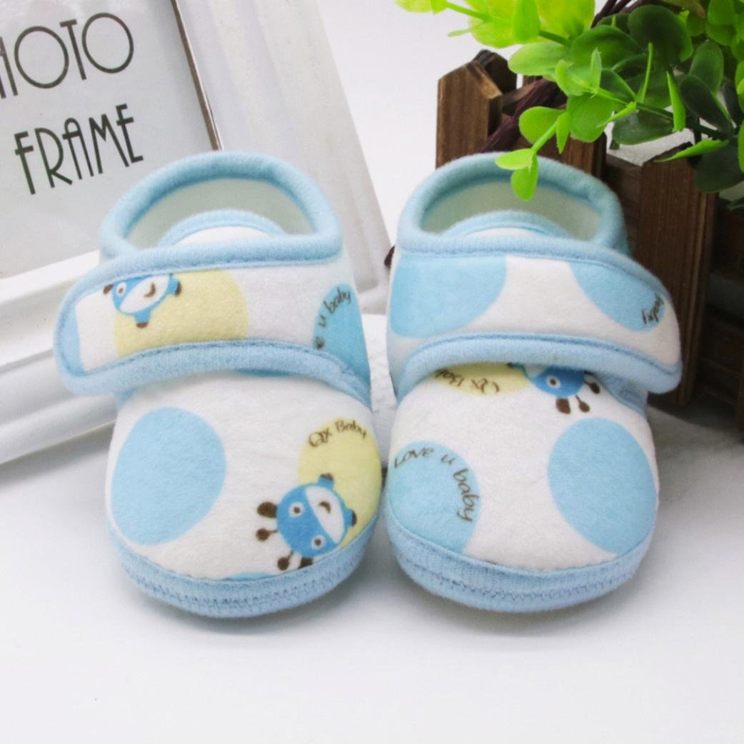 Amiley Kids Boy Girl Cozy Warm Snow Boots Soft Sole Prewalker Warm Shoes
