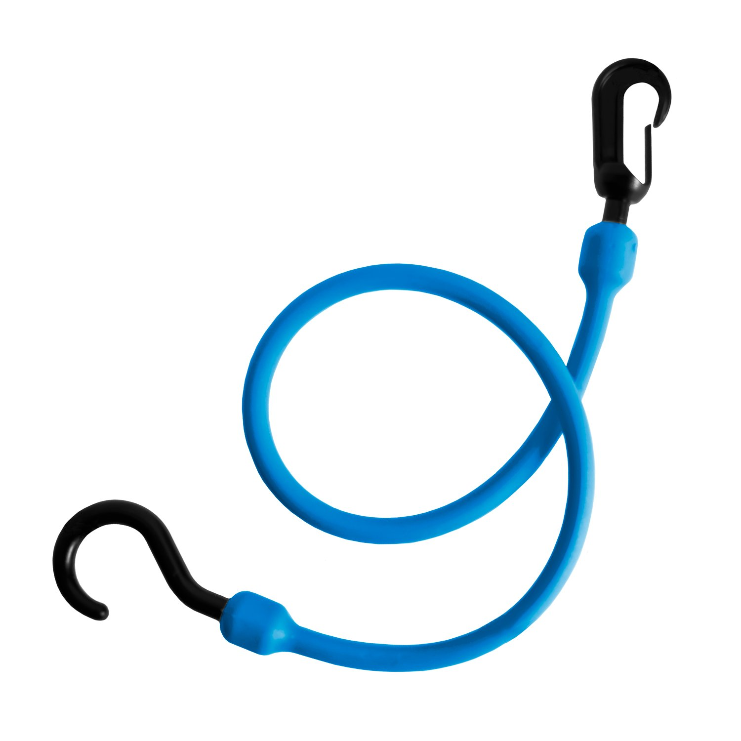 24 PC24FEBL Fixed End Easy Stretch Cord The Perfect Bungee by BihlerFlex Blue 24