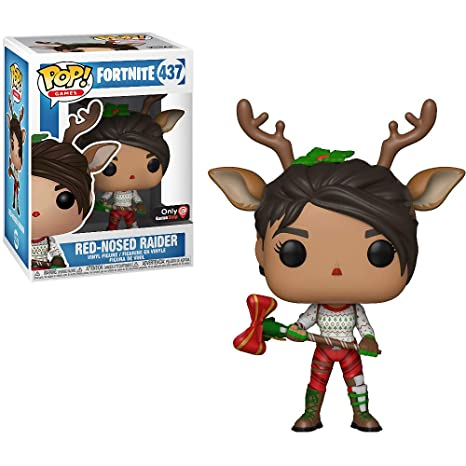 Amazon Com Funko Red Nosed Raider Gamestop Exclusive Fortnite X
