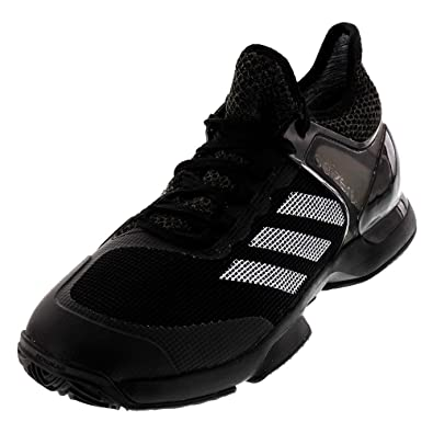 new products 4bb71 124cc adidas Adizero Ubersonic 2 Clay pour Homme Chaussures de Tennis - Noir -  NoirGris