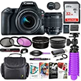 Canon EOS Rebel SL2 24.2MP DSLR Camera with Canon 18-55mm STM Lens Bundle + 32GB SD Memory + HD Filters + Spider Tripod + Professional Bundle with Corel Software Kit
