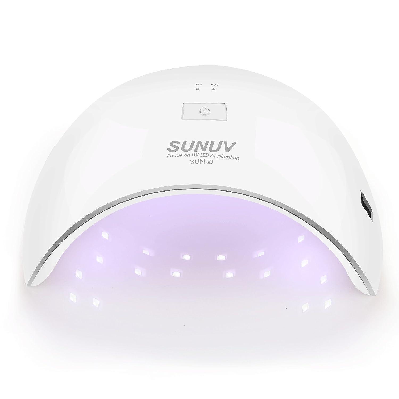 Amazon.com: Lámpara secadora de uñas SUNUV de ...
