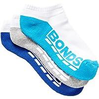 Bonds Kids Logo Low Cut Sport Socks (3 Pack), Pack 13