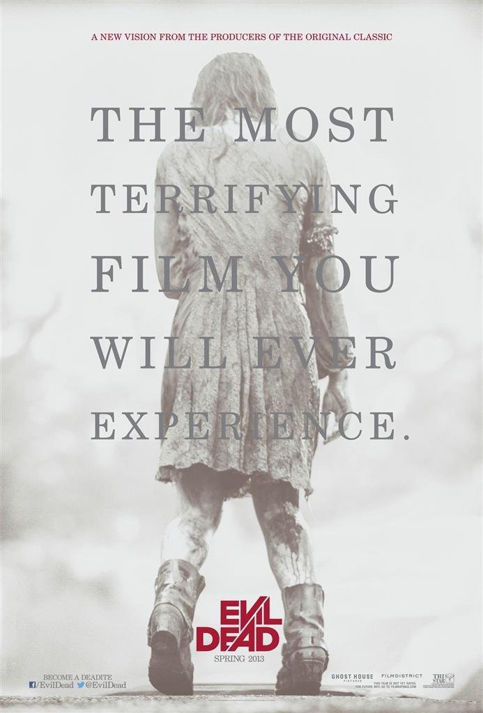 Evil Dead - Terrifying 2013 Movie Poster 24 x 36in