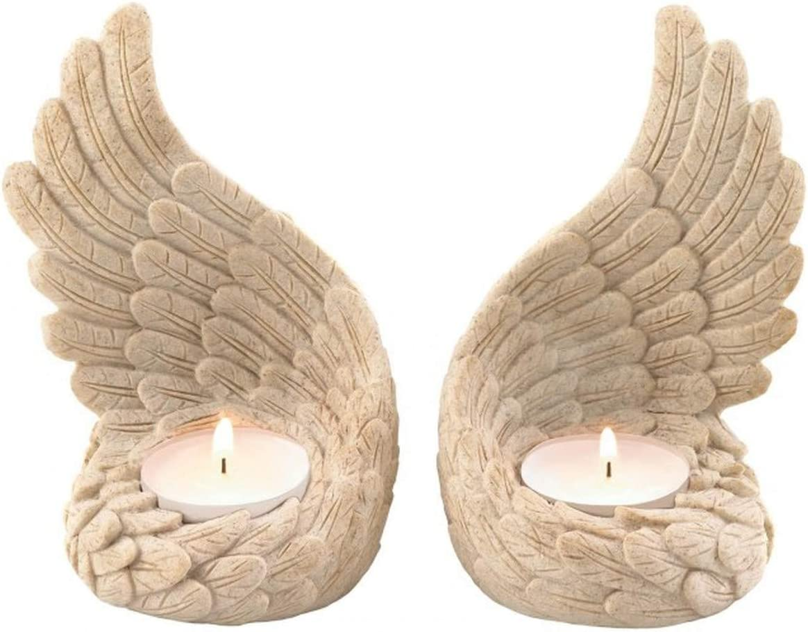 Angel Wings Tealight Candle Holder Christmas Decorations