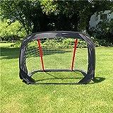 Kid Soccer Gate,Foldable Portable,Game Net Football Goal Net Framework 120 * 80 * 80Cm,Outdoor Sports Youth Football Box