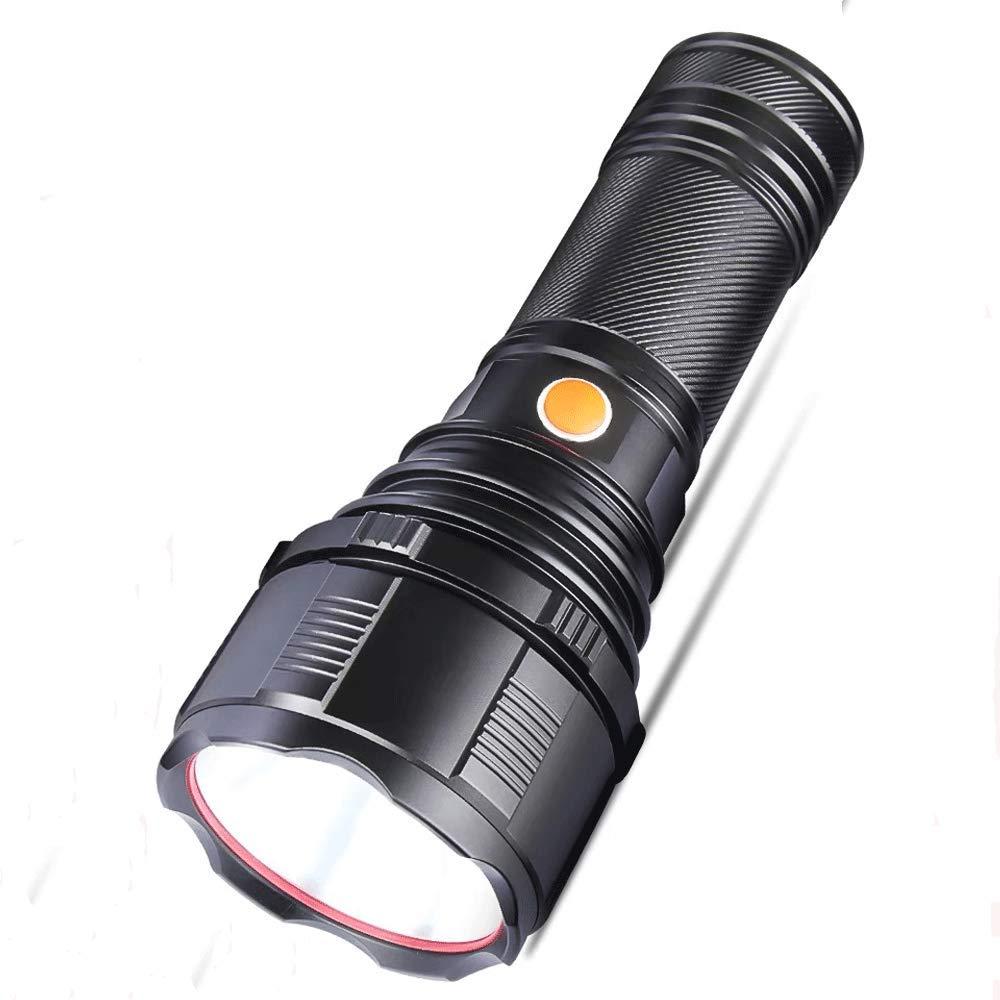 Outdoor-Taschenlampe Blendung Superhelle Wasserdichte Hand IPX67-Taschenlampe Xenonlampe 1000 Hohe Leistung