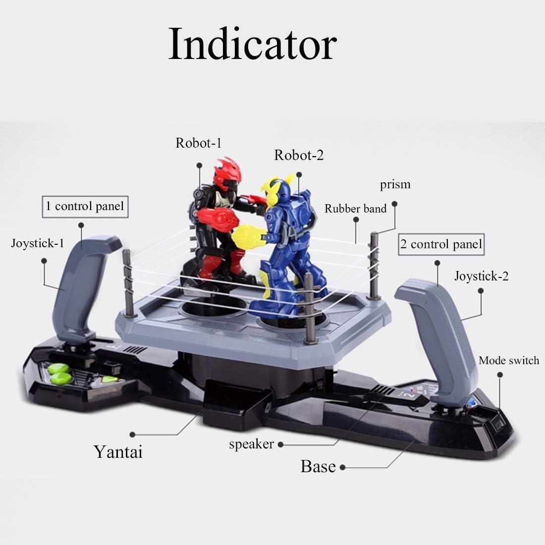 YIMUOUBA Robot Toys, Robo Kombat, Robot de Boxeo con Control Remoto Robot de Combate, Paquete Doble, Batalla Multijugador Adecuado para Niños y Niñas, Regalos de Cumpleaños para Niños: Amazon.es: Deportes y aire