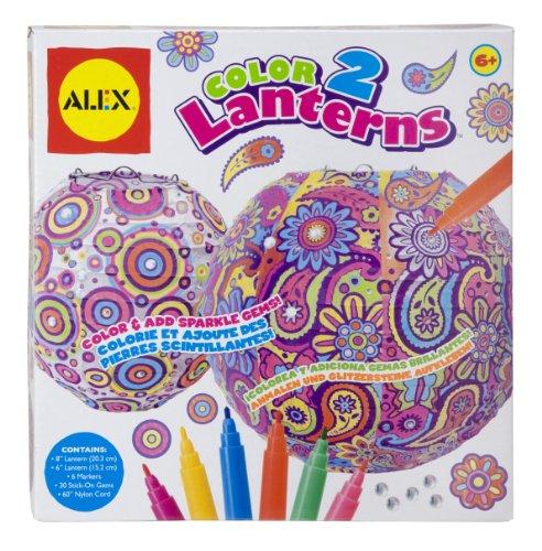 ALEX Toys Craft Color 2 Lanterns