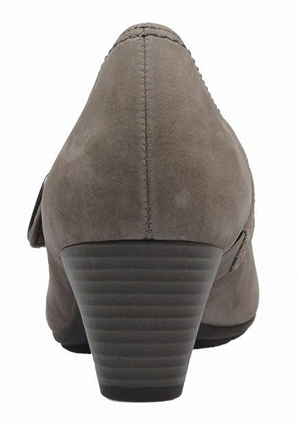 Gabor 85.422 Damen Pumps Leder, Grau, Größe 36: