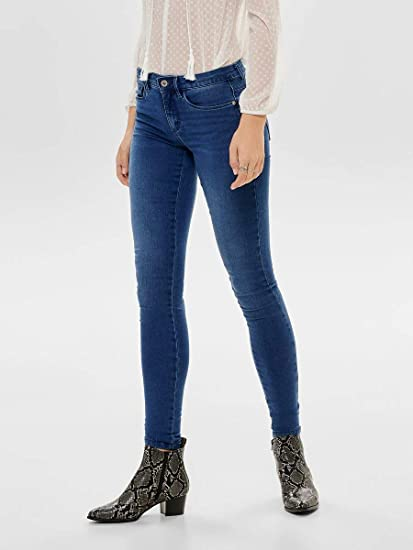 ONLY Damen jeans skinny fit Royal Reg 15096177