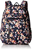 Vera Bradley Lighten Up Study Hall Backpack, Polyester, Cut Vines, cut vines, One Size