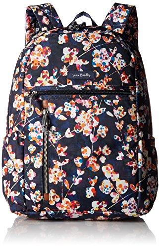 Vera Bradley Lighten Up Study Hall Backpack, Polyester, cut vines